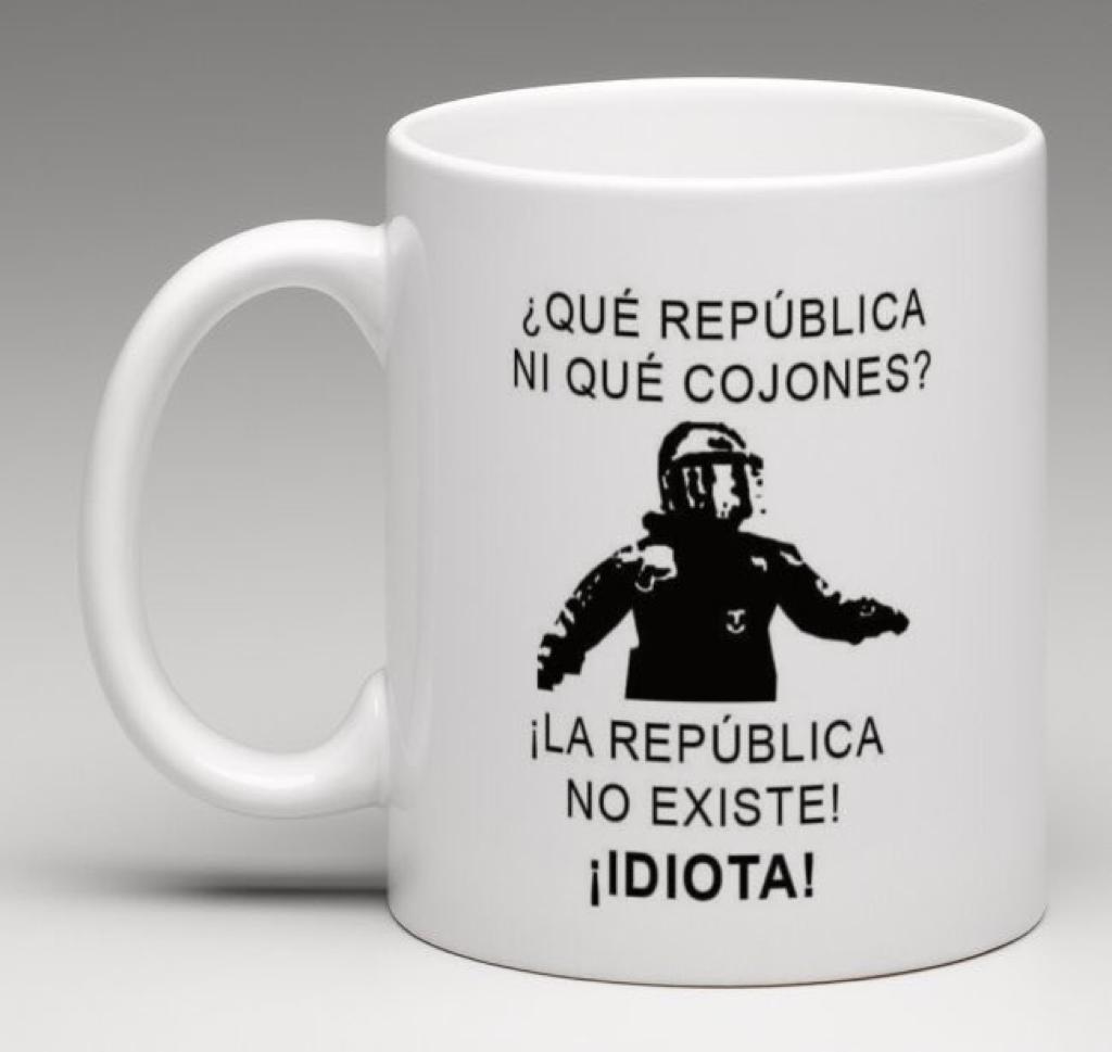 """Video el Mosso de la """"!la república no existe, idiota!"""", recurre la sanción"""