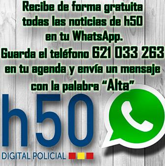 Recibe las noticias de Policiah50 directamente en tu WhatsApp