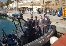 Mossos policía marítima