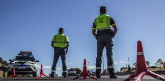 control Guardia Civil Tráfico