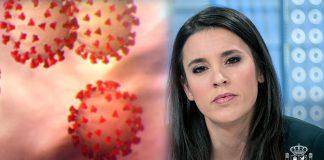 Irena Montero coronavirus