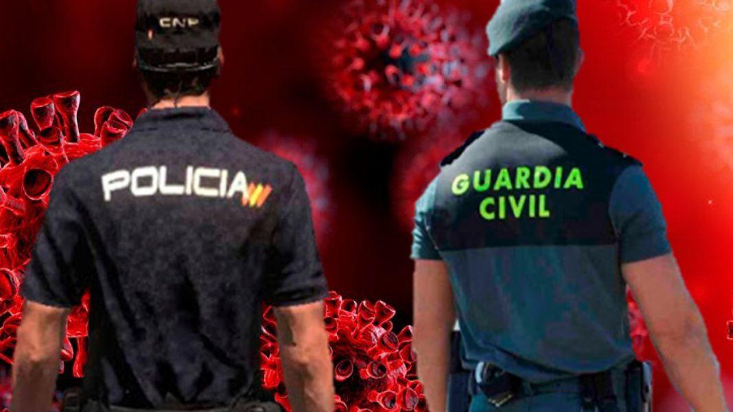 Policía y Guardia Civil Coronavirus