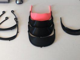 viseras 3D material sanitario