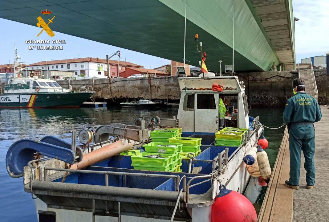 guardia civil pesca