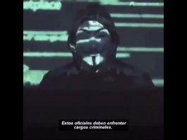 Anonimous amenaza policia eeuu