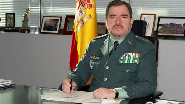 El general de división Pablo Salas Moreno propuesto para ser el nuevo Director Adjunto Operativo de la Guardia Civil Nuevo-DAO