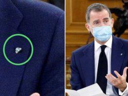 Rey Guardia Civil pin