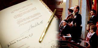 Constitución h50 monarquia Felipe VI