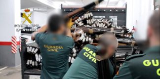 Guardia Civil destrucción armas h50