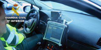 Guardia Civil radar tráfico h50