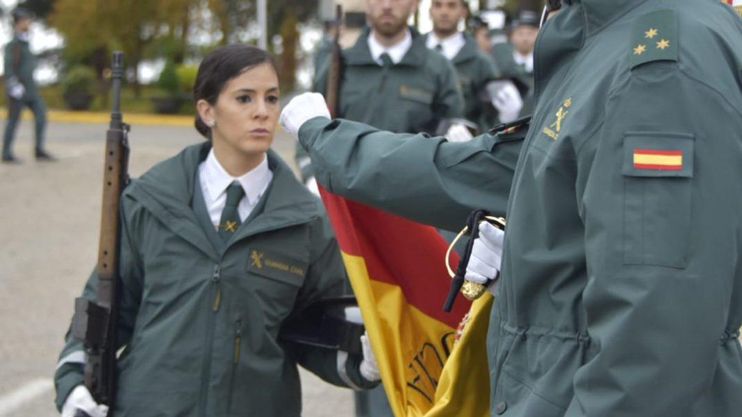 jura de bandera en la Academia de la Guardia Civil de Baeza Ministerio del Interior diciembre 2019
