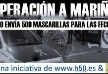 Operación A Mariña Marané moda infantil y h50 Digital Policial mascarillas solidarias