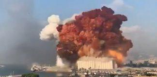 explosion beirut nitrato amonio