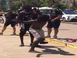 migrante Guardia Urbana Badalona