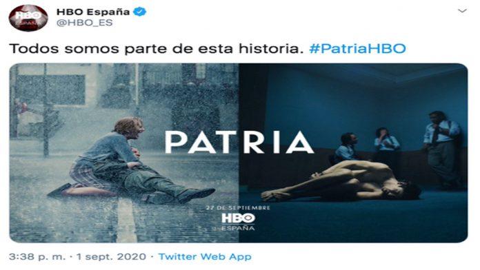 Cartel patria HBO Aramburu