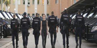 Policia Antidisturbios movistar +