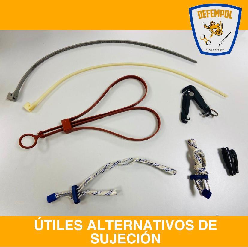 DEFEMPOL analiza los útiles alternativos de sujeción para la labor policial.