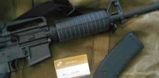fusiles de asalto, munición, balas