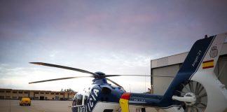 CONDOR, helicoptero policia nacional