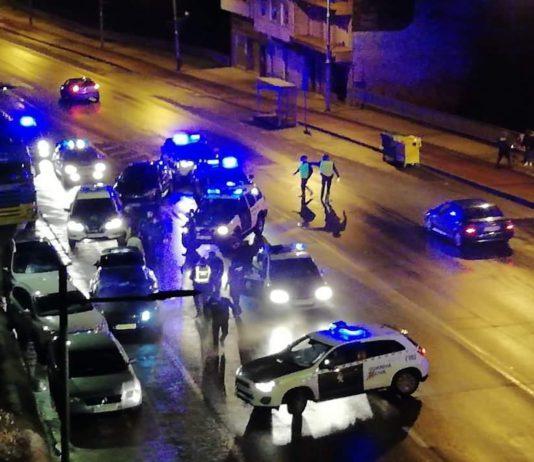 persecución audi a6 coruña guardia civil