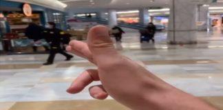 vigilante seguridad centro comercial