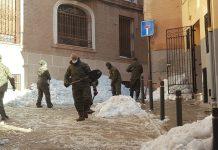 ejercito toledo nieve calles