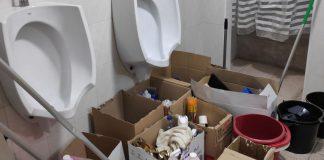lavabos guardia civil zaragoza