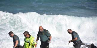rescate en el mar, actuacion guardia civil