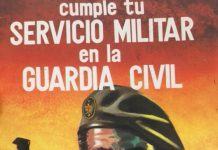 CARTEL GUARDIA CIVIL.