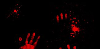 sangre manos