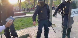 antidisturbios, vallecas